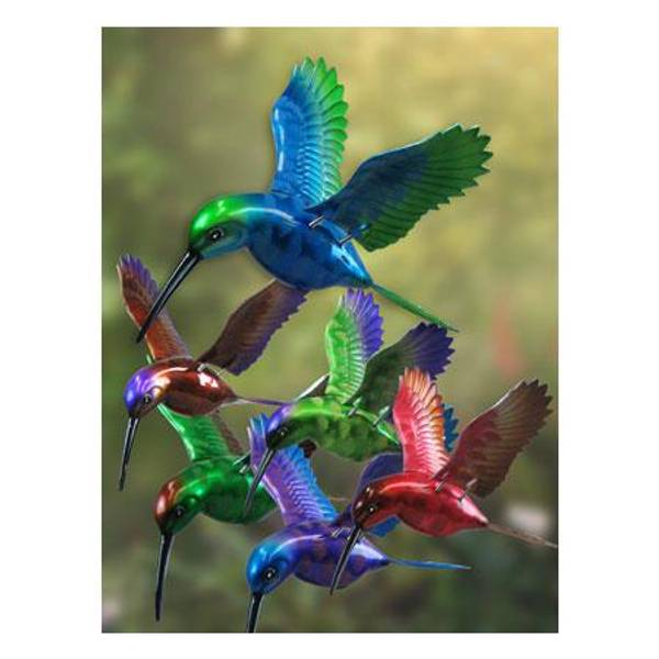 Hummingbird WindyWings Plant Stake Assortment