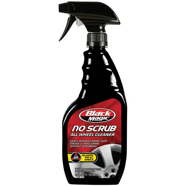 No - Scrub Wheel Cleaner