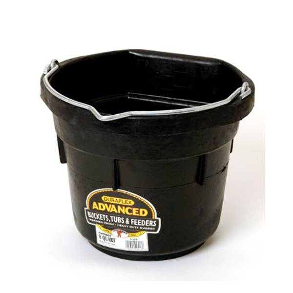 DuraFlex Advanced Rubber Flat Back Bucket