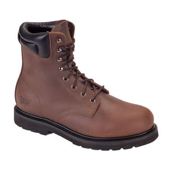 "Men's 8"" Padded Collar Work Boots"
