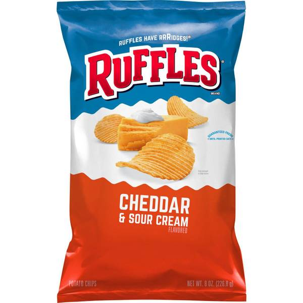 Family Size Cheddar & Sour Cream Potato Chips