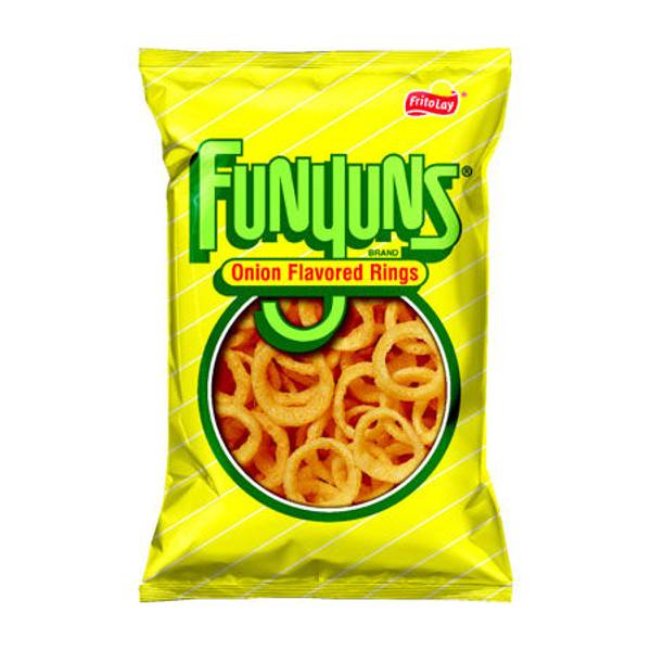 Frito Lay, Funyuns, 6oz Bag (Pack of 3) (Choose Flavors Below) (Original)