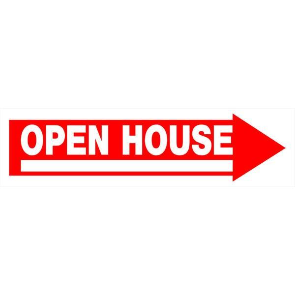 Hillman Open House Sign