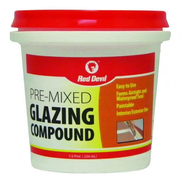 Pre - Mixed Glazing Compound
