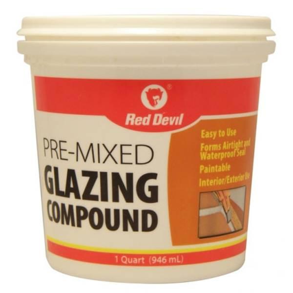 Red Devil Pre Mixed Glazing Compound