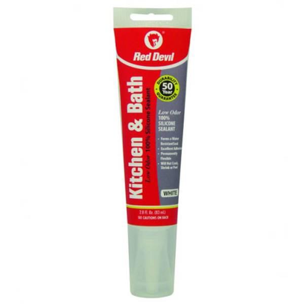 Kitchen and Bath Low Odor Silicone Sealant