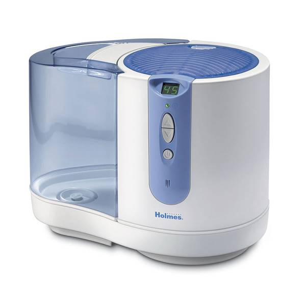 Holmes cool mist humidifier capacity 1 5 gallon at for Humidifier cleaning fish