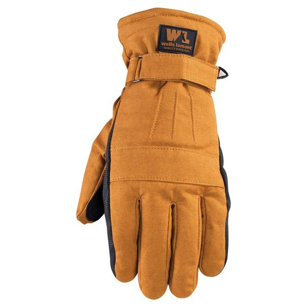 Wells Lamont Men's Duck Poly Waterproof Glove
