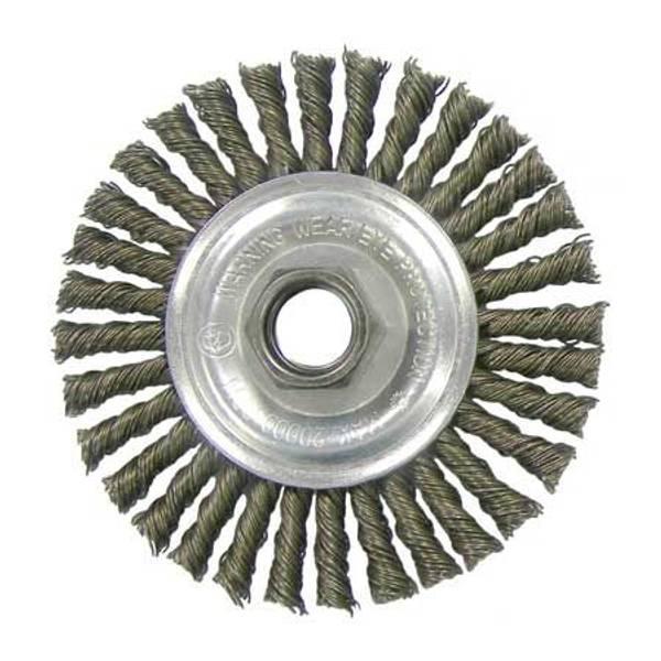 Vortec Pro Stringer Bead Twist Knot Wire Wheel