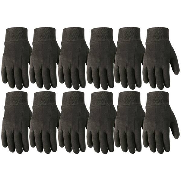 Economy Jersey Gloves 12 Pack