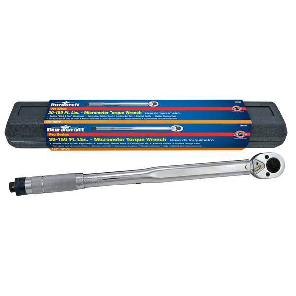 """1/2"""" Drive Micrometer Torque Wrench"""