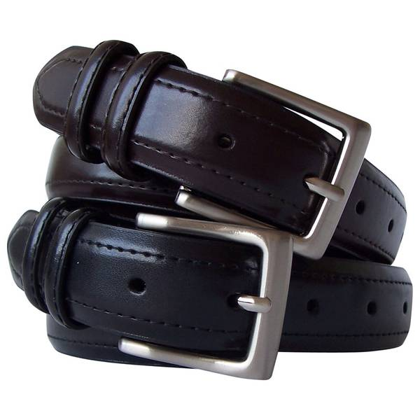 Men's 2 for 1 Stitch Strap Belt