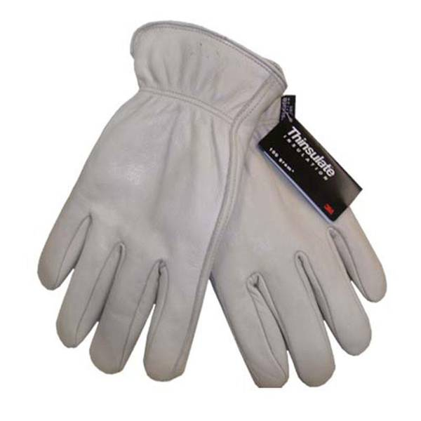 Men's C100 Cow Leather Gloves with Thinsulate