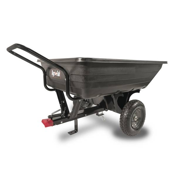 """Convertible Poly """"8"""" Dump Cart"""
