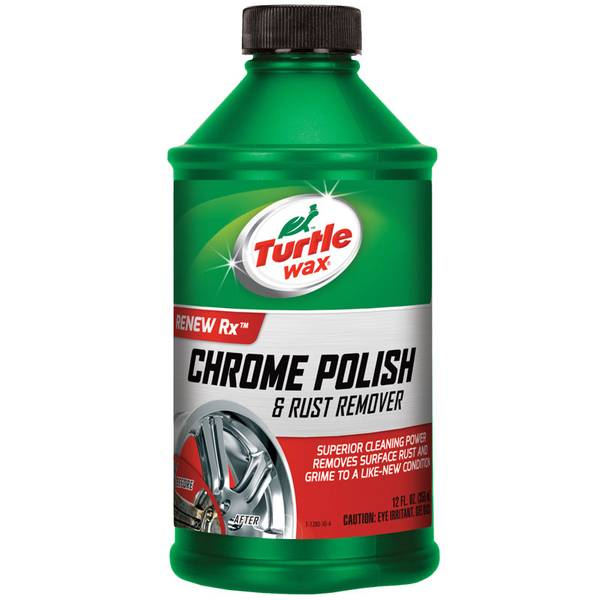 Chrome Polish and Rust Remover
