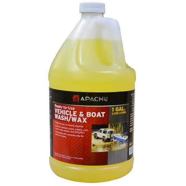 Vehicle & Boat Wash/Wax