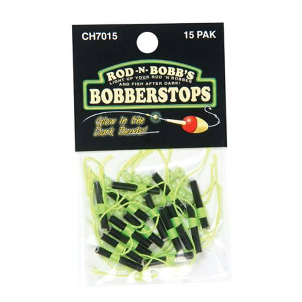 3 packs Rod-N-Bobb/'s CH-15-W BobberStops 45 Total Slotred Bobberstop Sleeves