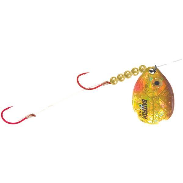 Holographic Baitfish Spinner Hooks
