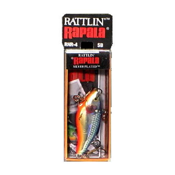 Rattlin' Sinking Silver / Blue Lure
