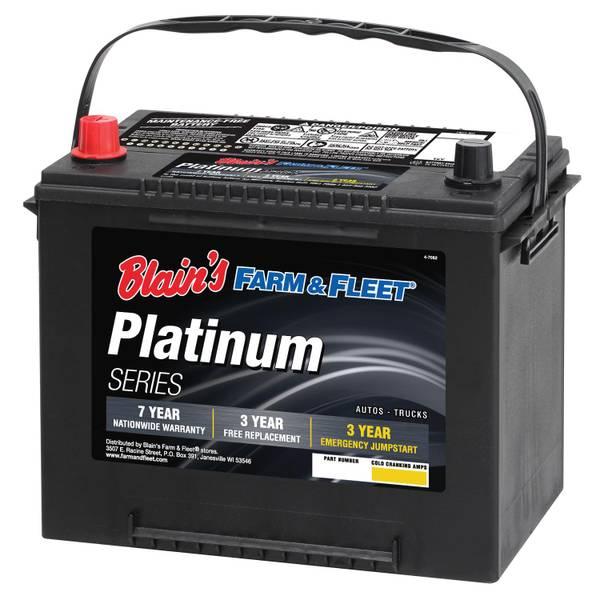 7-Year Platinum Automotive Battery