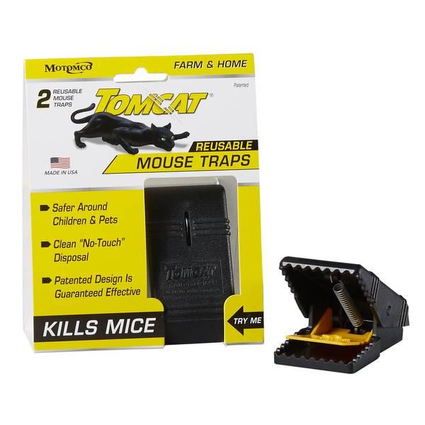 Reusable Mouse Traps