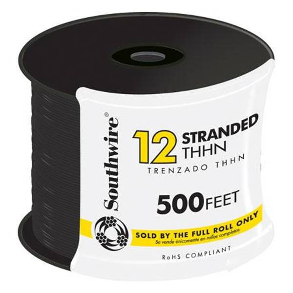 12 Gauge THHN Stranded Conduit Wire