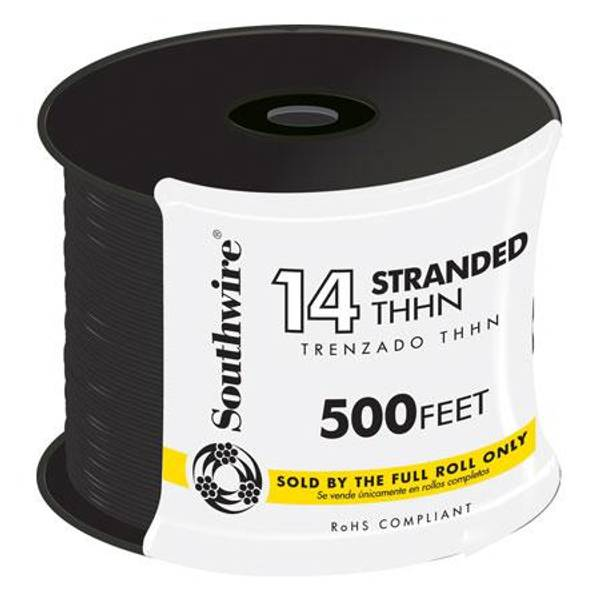 14 Gauge THHN Stranded Conduit Wire