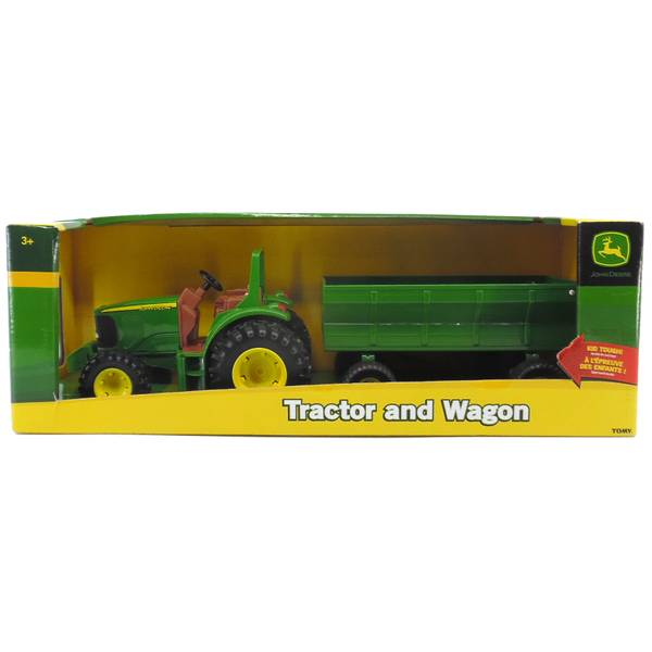 1:16 John Deere Tractor with Wagon