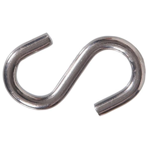 Heavy Stainless Steel Open S Hook