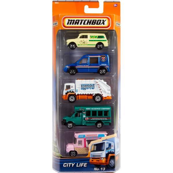 Adventure Fleet Vehicles 5-Pack Assortment