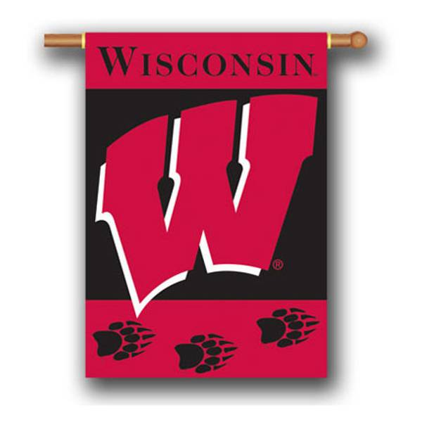 University of Wisconsin Double Sided Outdoor Hanging Banner