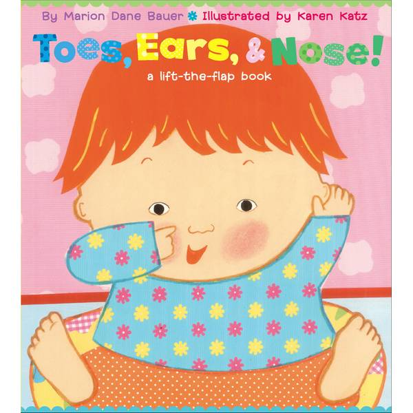 Toes, Ears & Nose! Lift-the-Flap Book