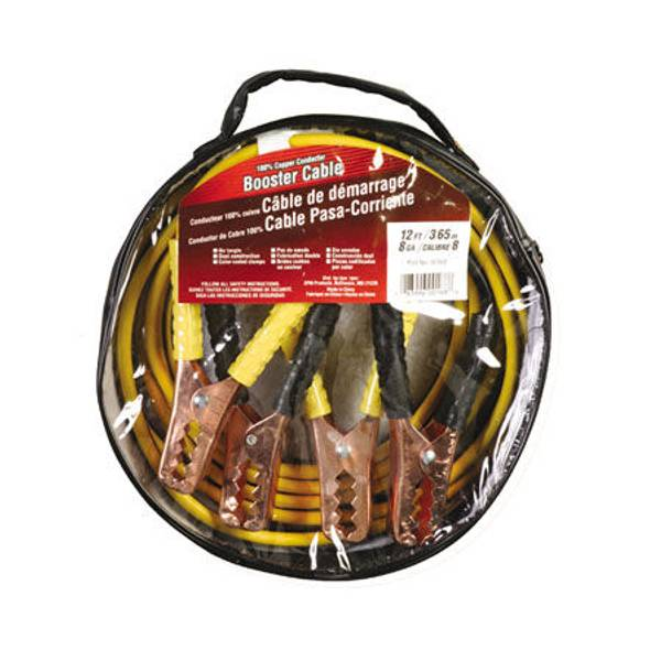 12' Medium Service Booster Cable
