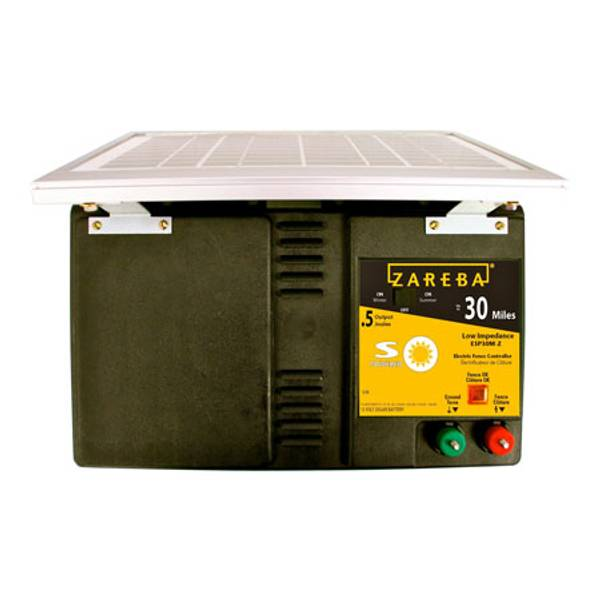 30 Mile Solar Electric Fence Energizer