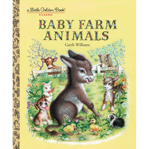 Baby Farm Animals Children's Book