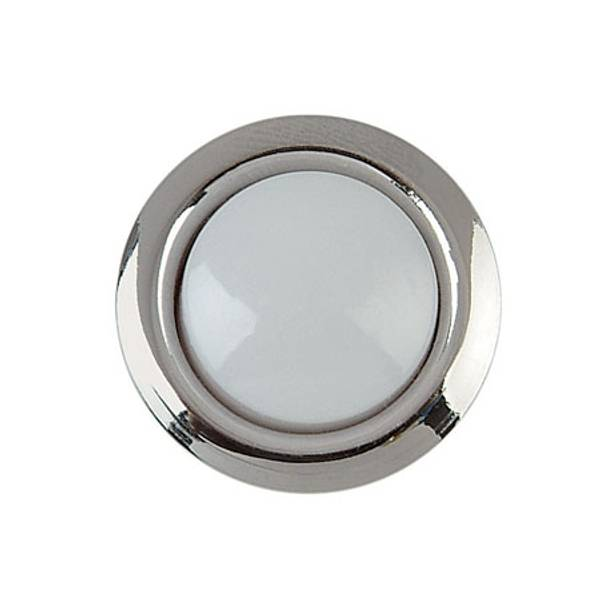 Silver Rim Lighted Door Bell Button