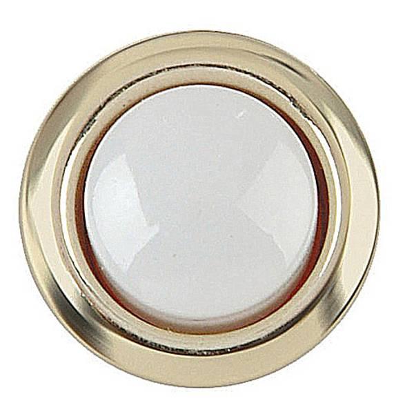 Gold Rim Lighted Door Bell Button