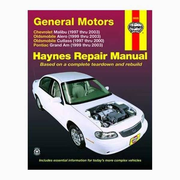 GM: Malibu (97-03), Classic (04-05), Alero (99-03), Cutlass (97-00) & Grand Am (99-03) Manual