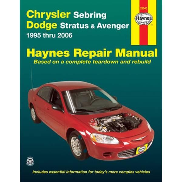 Chrysler Sebring & Dodge Avenger,  '95-'06 Manual