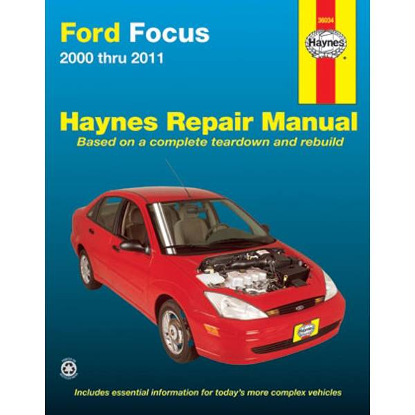 Ford Focus, '00-'11 Manual