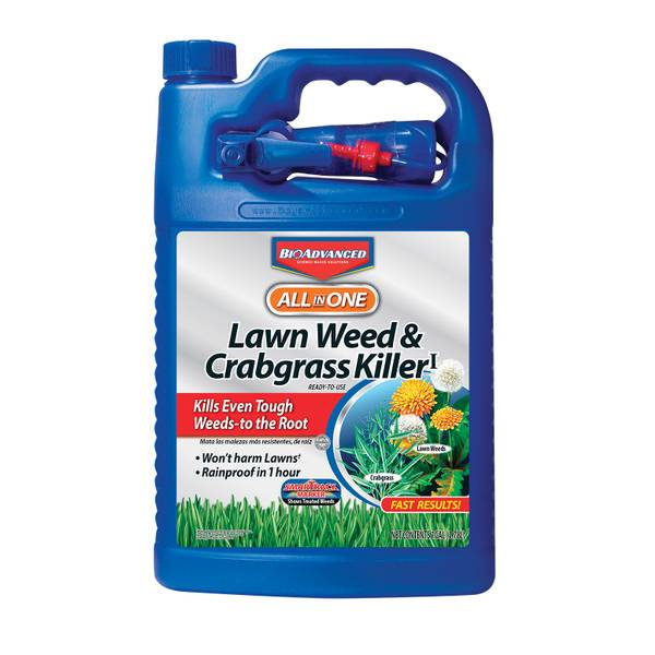 1 Gallon All-in-One Ready-to-Use Weed Killer for Lawns