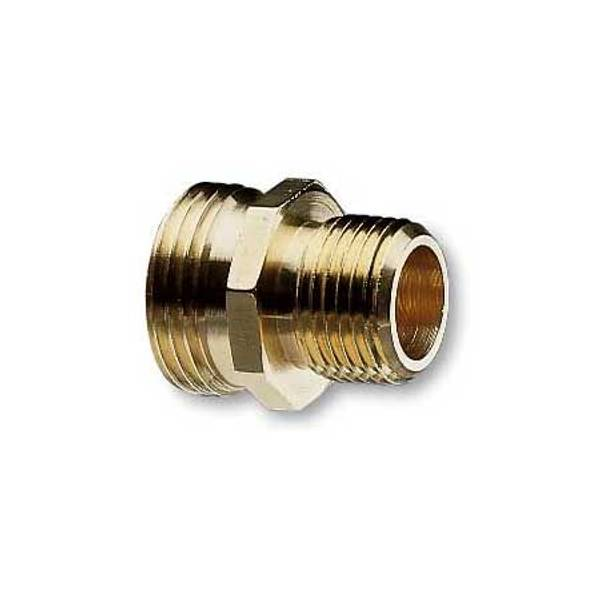 Double Male Pipe and Hose Connector