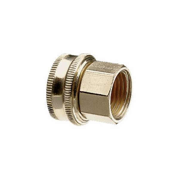 Nelson Double Female Pipe And Hose Connector