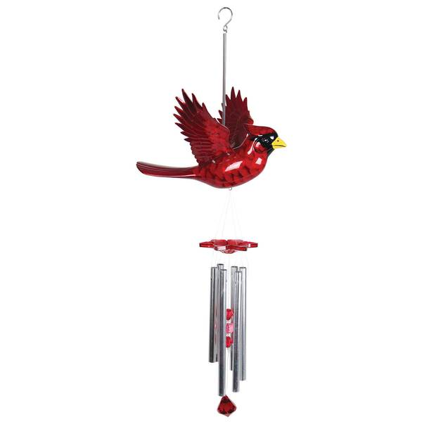 Large WindyWings Cardinal Wind Chime