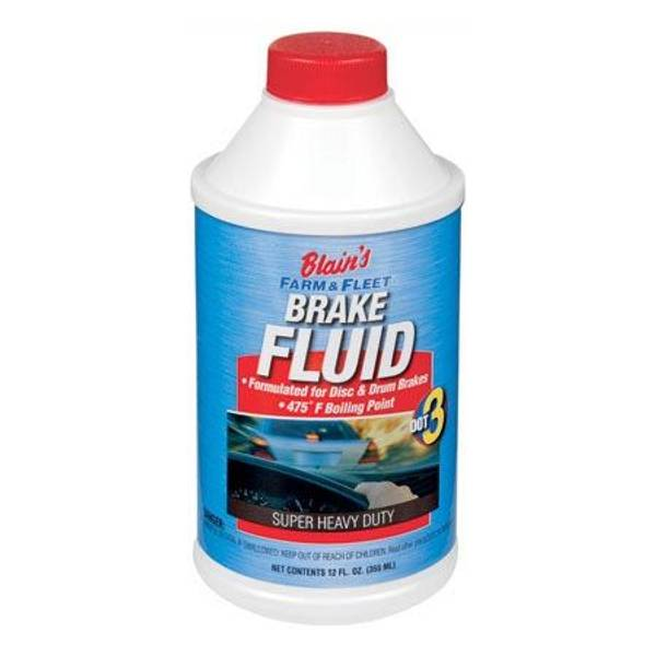 DOT 3 Super Heavy Duty Brake Fluid