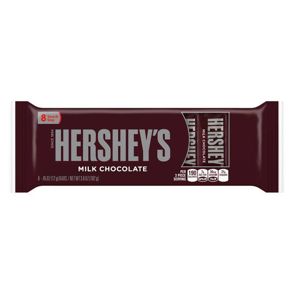 Chocolate Candy Bar 8 Pack
