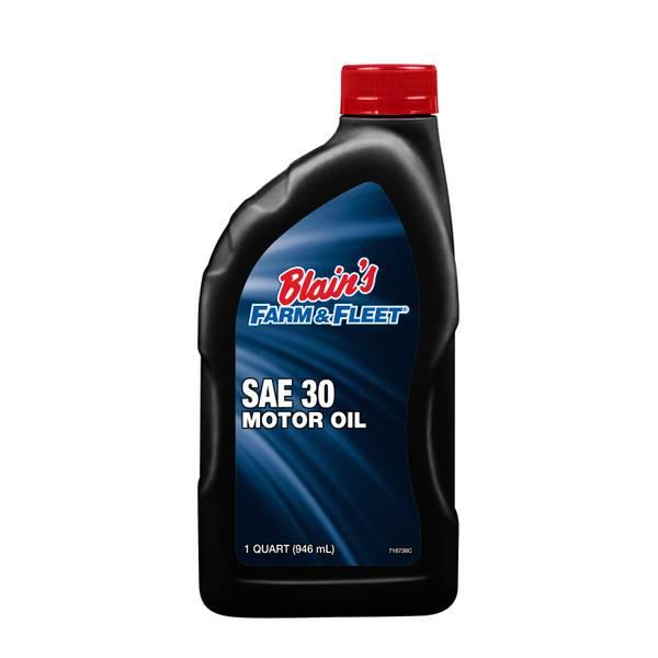 Blain 39 s farm fleet premium hd30 grade motor oil for Hd 30 motor oil
