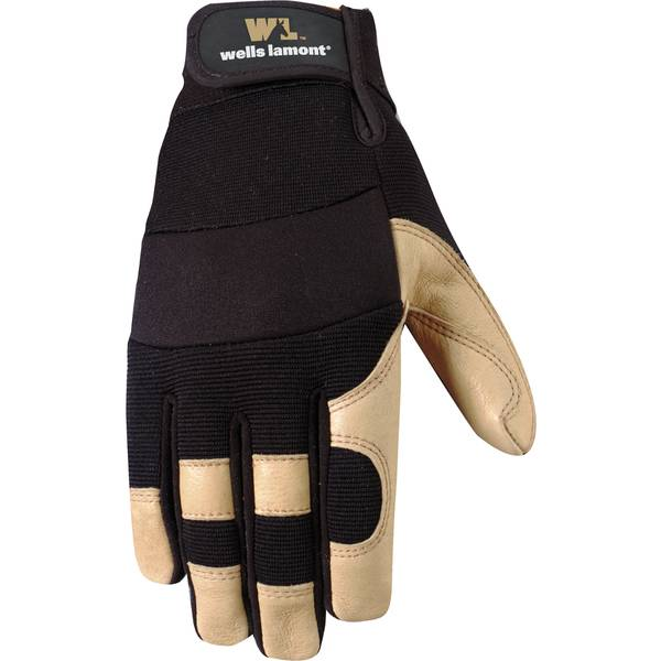 Men's Back Grain Pigskin Gloves