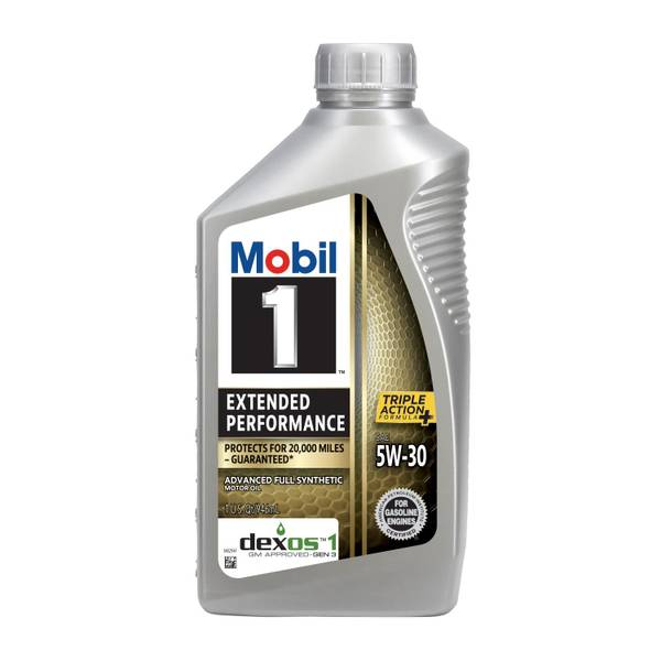 5W-30 Extended Performance Full Synthetic Motor Oil