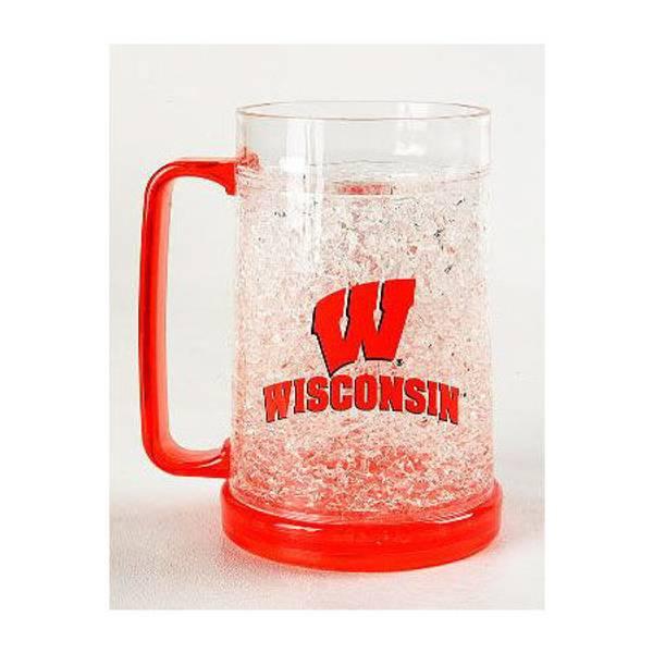 University of Wisconsin Badgers Crystal Freezer Mug